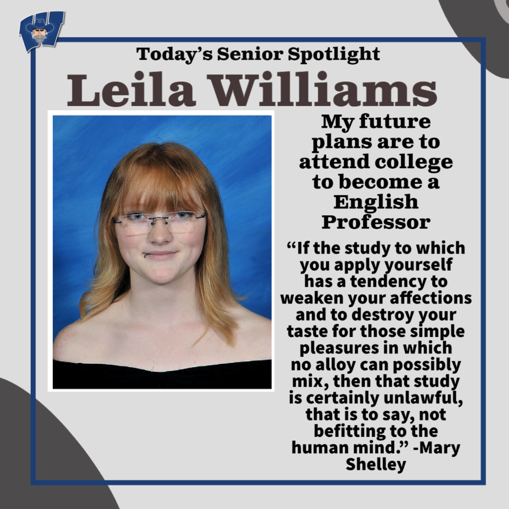 Leila Williams Senior Spotlight