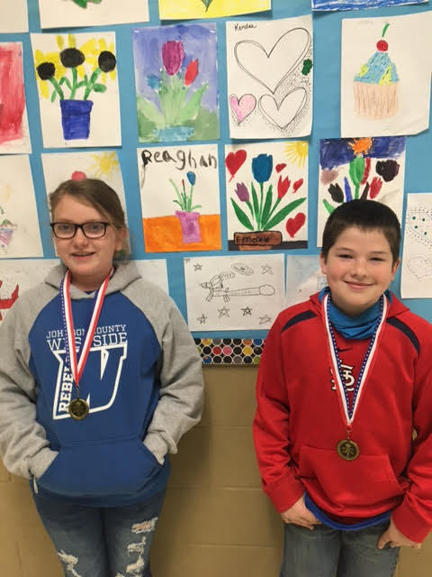5th grade March students of the month