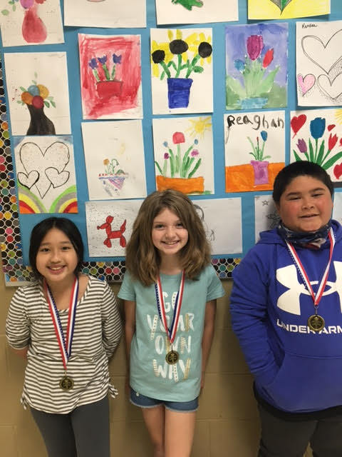 March 4th grade Students of the Month