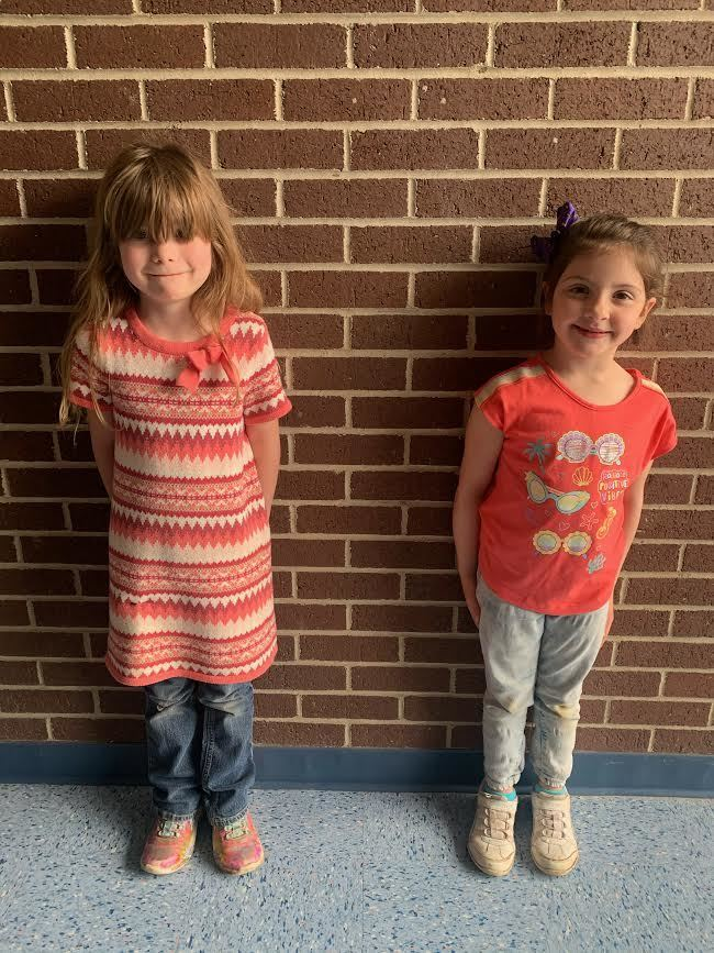 Kindergarten Students of the Month